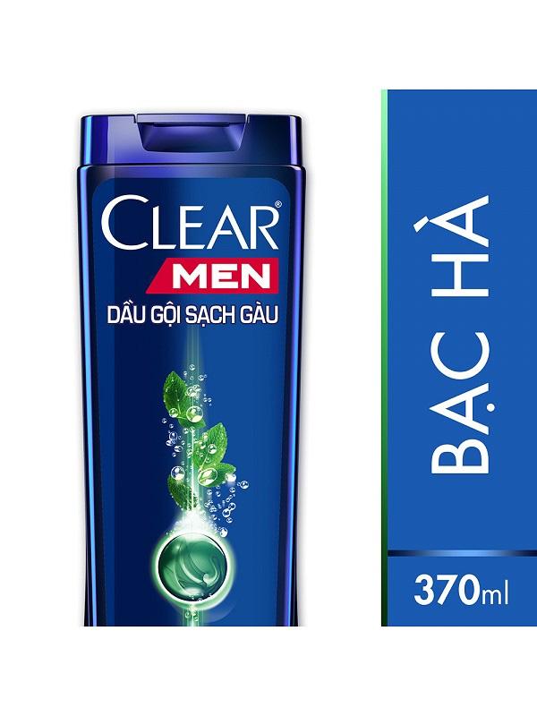 Dầu-Gội-Clear-Men-Mát-Lạnh-Bạc-Hà-(370g)