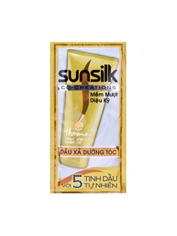 Dầu-Xả-Sunsilk-Mềm-Mượt-Diệu-Kỳ-(dây-12-gói)