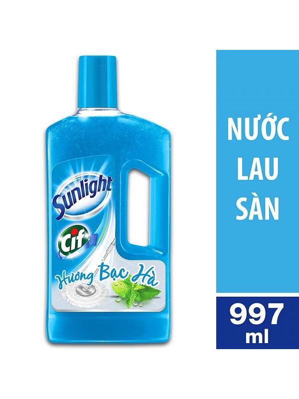 Nước-Lau-Sàn-Sunlight-Hương-Bạc-Hà-(chai-1kg)