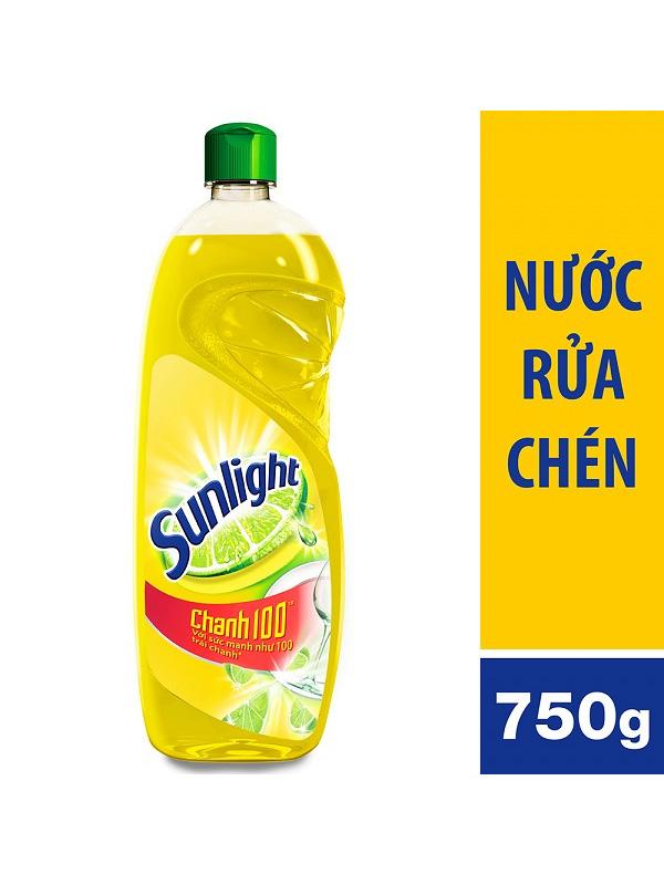 Nước-Rửa-Chén-Sunlight-Chanh-(chai-750g)