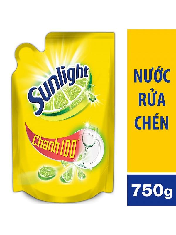 Nước-Rửa-Chén-Sunlight-Hương-Chanh-(túi-750g)
