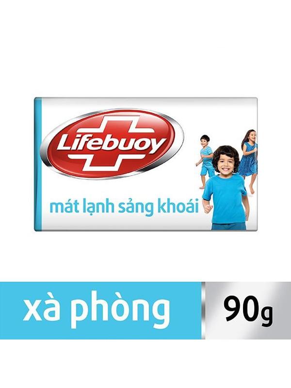Xà bông Lifebuoy mát lạnh sảng khoái 90g